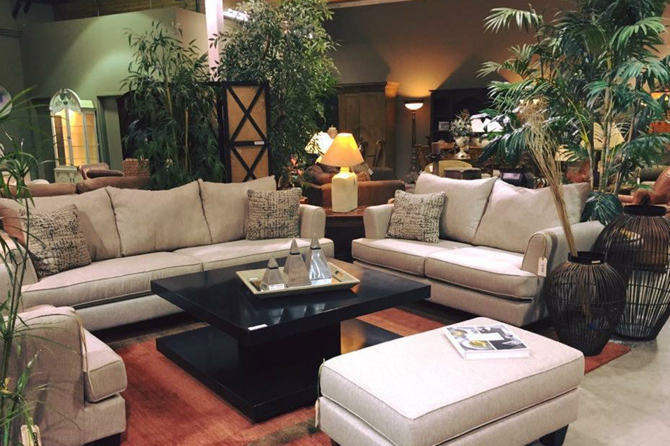 Living Room Set With Sofa And Loveseat And Matching Arm Chair And Ottoman Encore Consign