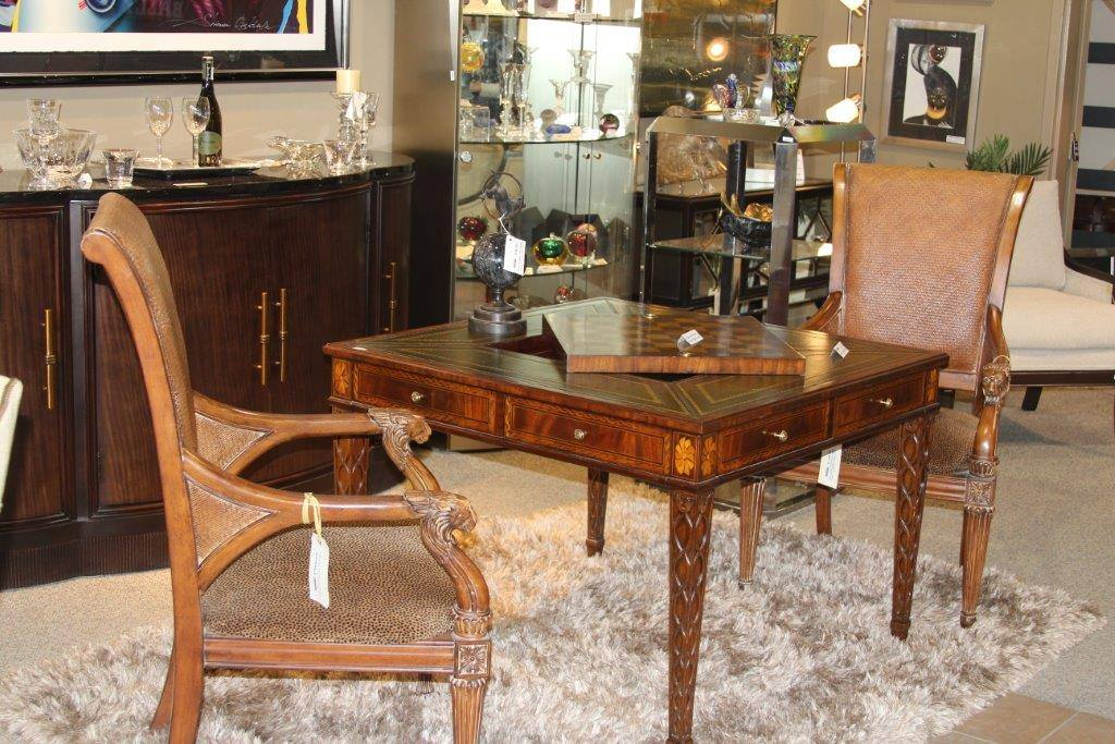 Table Chairs And Chess Set Encore Consign Design Studio