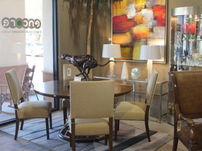 Wall Art and Dining Room Furniture