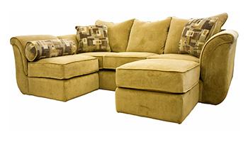 Yellow Sectional Sofa