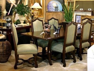 Dark Wooden Dining Room Furniture