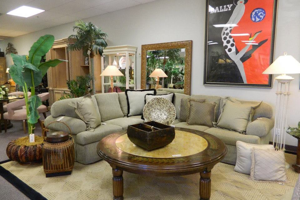 Luxury Sectional from a Consignment Store