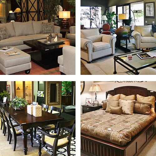 Collage of Quality Consignment Furniture