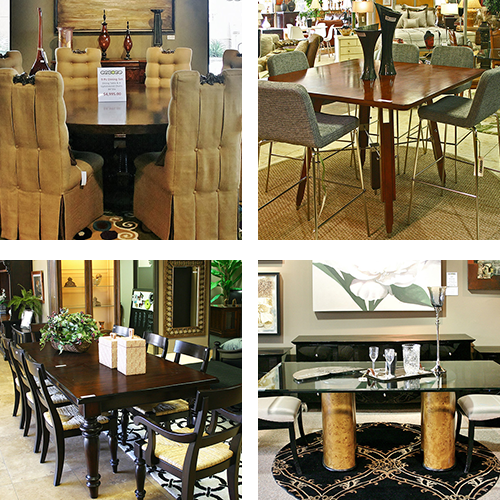 dining room furniture stores - encore consign + design studio